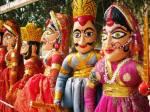 Rajasthani puppets, Jodhpur.