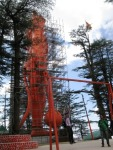 Big monkey statue at the Hanuman Temple on Jakhu Hill, Shimla.