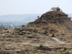 Hanuman Temple on the hill, Aurangabad.